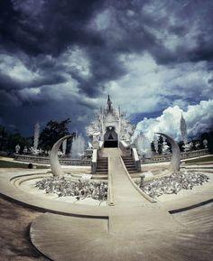 The white Temple Chiang Rai Thailand