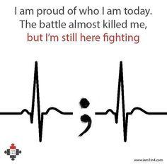 I& still here, still fighting, Tattoo, I& still here, still fighting. Meaningful Tattoos, Meaningful Quotes, Inspirational Quotes, Angst Tattoo, Hand Tattoos, Tatoos, Recovery Tattoo, Sobriety Tattoos, Sobriety Quotes