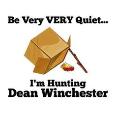 Hunting Dean Winchester #supernatural