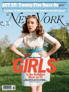 Lena Dunham on a magazine cover!