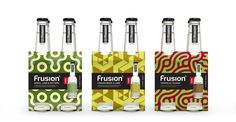 yummy frusion drinks designed by Interbrands (NZ)