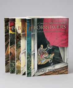 The borrowers series. I loved this series as a kid! #chapterbook