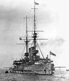 HMS Abion at moorings at Malta