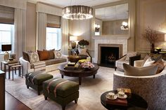 Nicky Dobree | Living Rooms with a Fireplace for a ...