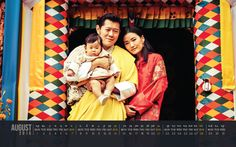 New months means new image from the Bhutanese Royal Family. This month's calendar features the King, Queen and Crown Prince during the King's first visit to Dechenphu Lhakhang. Dechenphu is the seat of one of Bhutan's most important protective...