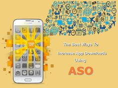 The best tips to increase your app ranking and mobile apps downloads in various app stores using these app store optimization(ASO) techniques.