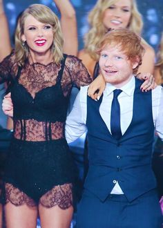 Taylor Swift & Ed Sheran