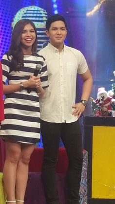 Embedded image permalink Eat Bulaga, Maine Mendoza, Alden Richards, Pinoy, Embedded Image Permalink, Philippines, Singer, Actresses, Actors