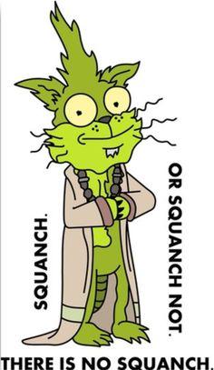 Rick and Morty • Squanchy Yoda