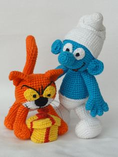 Hey, I found this really awesome Etsy listing at http://www.etsy.com/listing/123467239/jokey-and-azrael-the-cat-amigurumi