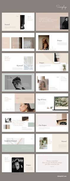 This presentation 'Neutral'✨ contains creative content slides with beautiful neutral color. #neutral #colors #palette #ppt #powerpoint #presentations #simplep #minimalist #simple #psentations #lookbook #portfolio #proposal #AD