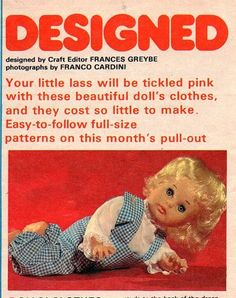 No One Loves Me, Vintage Dolls, Beautiful Dolls, Doll Clothes, First Love, October, Trousers, Colour, Patterns