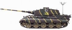Dragon Armor King Tiger German Army Tank 101 w/Zimmerit Tiger Ii, German Soldiers Ww2, German Army, Army Vehicles, Armored Vehicles, Best Armor, Tank Armor, Camouflage Patterns, Tiger Tank