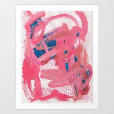 Playtime no. 2 Art Print by Megan Hendry - $16.00