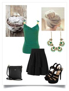 """""""Untitled #88"""" by onie-sanna ❤ liked on Polyvore featuring Coach and Alexander McQueen"""