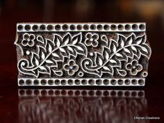 Indian Wood Stamp Textile Stamp Wood Blocks by charancreations