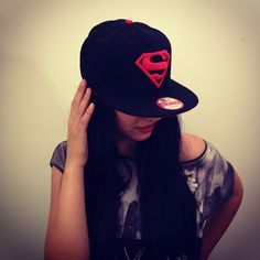 Superman Шапка Права Козирка Цена New Era SuperSwag.eu - Swag Clothеs, Hats and Accessories #hot #girl wearing cool #swag #Snapback #hat #cap