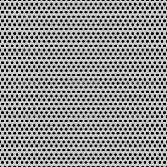 Seamless Circle Perforated Carbon Grill Texture — Stock Vector ...