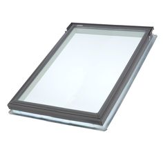 VELUX 21 in. x 26-7/8 in. Fixed Deck-Mount Skylight with Tempered Low-E3 Glass