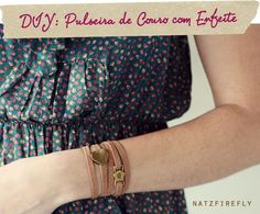 DIY+Leather+Bracelets | DIY: Leather bracelet | Crafty things