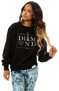 Diamond Supply Co Hoodie Women September 2017