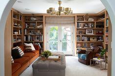 stunning library space  Interiors | Nate Berkus