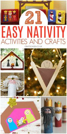 easy nativity activities and crafts for kids preschool toddler preschool christmascrafts christmascraftsforkids 116038127885335557 Christmas Activities For Toddlers, Preschool Christmas Crafts, Advent Activities, Nativity Crafts, Holiday Crafts, Nativity Ornaments, Kids Advent Crafts, Diy Ornaments, Christmas Nativity
