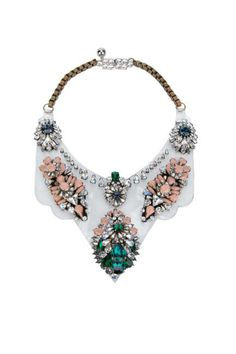 Shourouk Statement Necklace, farfetch.com