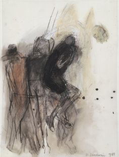 Betty Goodwin – Carbon pastel, graphite, oilstick, wash on geofilm. Collection of the Vancouver Art Gallery Figure Painting, Figure Drawing, Vancouver Art Gallery, Canadian Artists, Life Drawing, Contemporary Paintings, Figurative Art, Painting Inspiration, Art Images