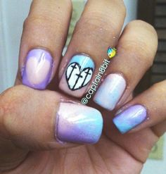pastel goth. crosses are upside- down..... still love it!