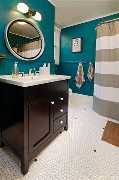 Bathroom Wall color perhaps??
