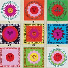 Lots of prints and designs by Alexander Girard