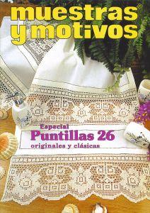 Muestras y Motivos Puntillas 26Muestras y Motivos Especial Puntillas No 26   Doilies, centerpieces, etc I