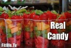 Real candy: Fruit