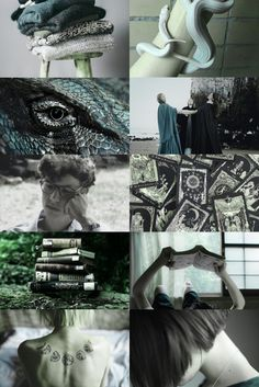 horned serpent aesthetic (more here)