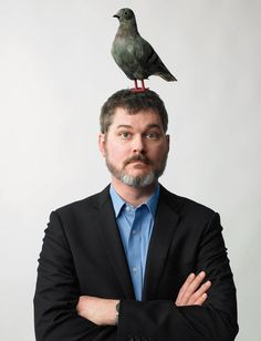 Kid-lit legend Mo Willems. Use this picture for author study