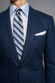 How a blue blazer should fit. #menswear #business