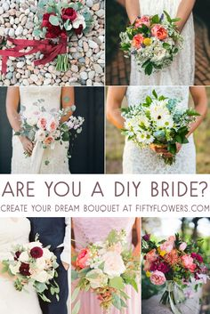With eucalyptus, roses, greenery and more, FiftyFlowers has the best selection of bulk and wholesale flowers to ensure your DIY wedding or event looks lovely. Floral Wedding, Wedding Colors, Fall Wedding, Diy Wedding, Wedding Bouquets, Rustic Wedding, Wedding Flowers, Dream Wedding, Wedding Ceremony