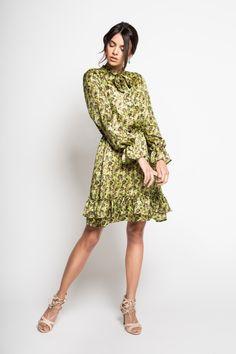 235b10cc Sukienka midi z wzorem w kwiaty rozmiar S - LIKWIDACJA SKLEPU in ...