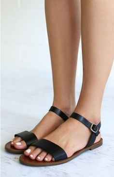 Windsor Smith Bondi Sandals Black | Beginning Boutique shop new @ www.bb.com.au/new