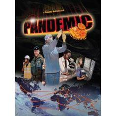 Pandemic is a cooperative game that races against the clock! Battle time as you search for the origin of multiple diseases around the world and slowly but surely find the cure. Cure them all to stop the global pandemic!
