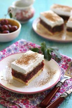 TŰZOLTÓ SZELET ~ Tiramisu, Dessert Recipes, Pudding, Dishes, Cookies, Sweet, Ethnic Recipes, Foods, Crack Crackers