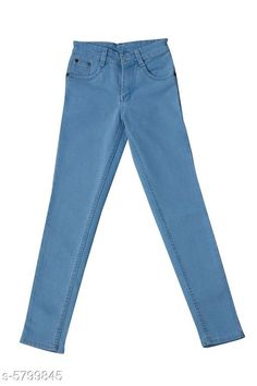 Jeans Elegant Denim Boy's Jean Fabric: Denim Pattern: Solid Multipack: Single Sizes:  Age Group (1 - 2 Years) - 18 in Age Group (2 - 3 Years) - 20 in Age Group (3 - 4 Years) - 22 in Age Group (4 - 5 Years) - 24 in Age Group (5 - 6 Years) - 26 in Age Group (6 - 7 Years) - 28 in Age Group (7 - 8 Years) - 30 in Age Group (8 - 9 Years) - 30 in Age Group (9 - 10 Years) - 32 in Age Group (10 - 11 Years) - 32 in Age Group (11 - 12 Years) - 34 in Country of Origin: India Sizes Available: 0-1 Years, 1-2 Years, 2-3 Years, 3-4 Years, 4-5 Years, 5-6 Years, 6-7 Years, 7-8 Years, 8-9 Years, 9-10 Years, 10-11 Years, 11-12 Years, 12-13 Years   Catalog Rating: ★4 (868)  Catalog Name: Elegant Denim Boy's Jeans CatalogID_873597 C59-SC1180 Code: 864-5799845-6711