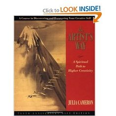 "The Artist's Way by Julia Cameron. A ""hands-on"" book to guide the reader to connect with their creativity (not just visual arts, all areas). Great experiential book!/meli"
