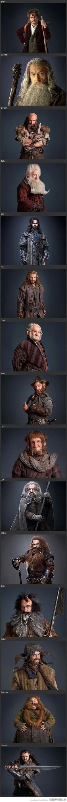 The Hobbit; Bofur has an axe in his forehead.