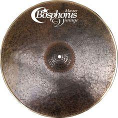 Bosphorus Cymbals Master Vintage Series Ride Cymbal