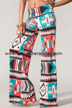 Back at the Ranch - Lazy Sunday Palazo Pants, $29.00 (http://www.backattheranchtx.com/lazy-sunday-palazo-pants/)