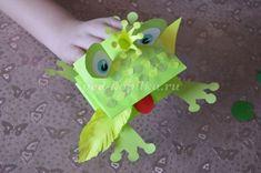 Царевна - лягушка. Объемная композиция из бумаги для детей от 7 лет. Мастер-класс с пошаговыми фото