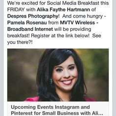 Mark your calendars!  I will be speaking at the Redwood Falls Public Library for the Redwood Falls Social Media Breakfast this Friday, March 6th at 8:00 am about Visual Social Media for Small Business  Register with @rvtechsolutions  You're coming right?!?! #socialmedia #smallbusiness #localbusiness #despresphoto #visualmedia #networking  (at Despres Photography)