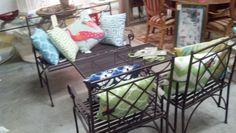 metal outdoor patio set